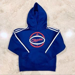 🆕 NWT Adidas Clippers Climawarm Hoodie